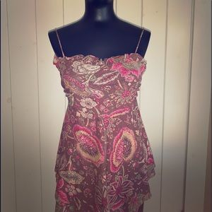 Women's paisley tank top